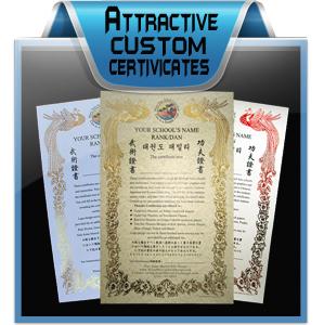Certificates Design Services
