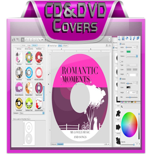 CD, DVD Covers, Software Boxes, ... Designs