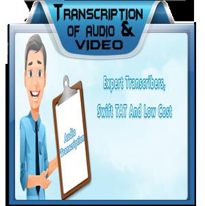 Transcription of Audio & Video