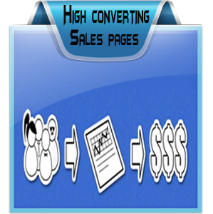 Responsive Sales, Landing or Squeeze Pages Designing